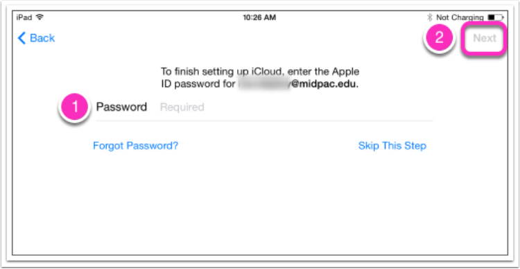 13. Enter Your AppleID Password