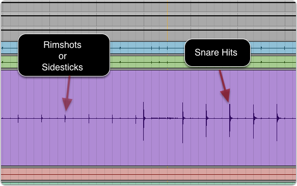 How To Separate Sidesticks from Snare Hits with Strip Silence