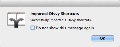 Import Shortcuts