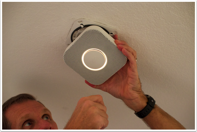 18 Constantly bumping the button caused the Nest to keep trying to test