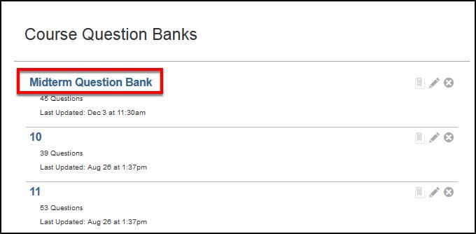 Screenshot of selecting the bank.