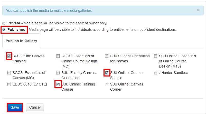 Screenshot of selecting courses.