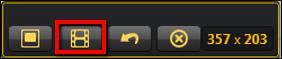 Screenshot of the filmstrip icon.