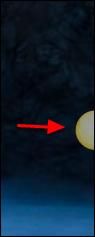 Screenshot of the yellow circle.