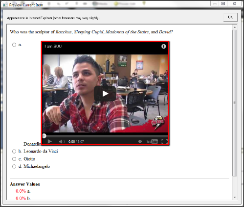 Screenshot of the preview video.