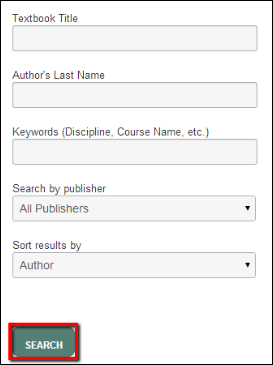 Screenshot of the Search button.