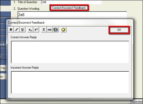 Screenshot of the OK button.