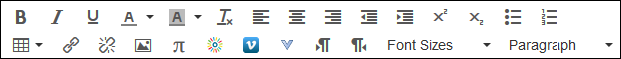 Screenshot of the editing toolbar.