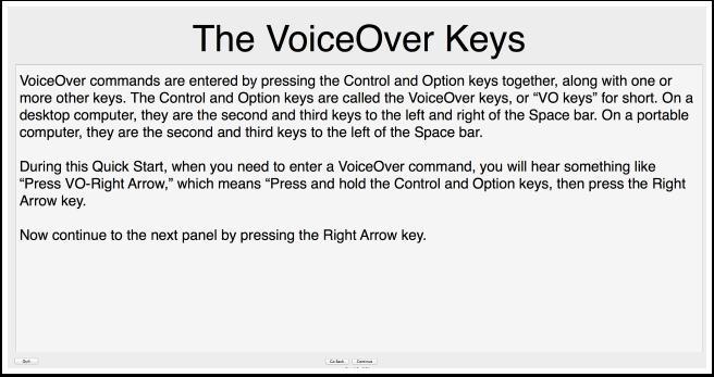 VoiceOver Tutorial