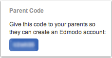 Step 1 - Your Parent Code