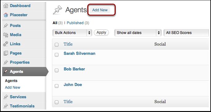 Adding Agents: