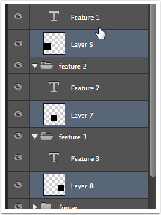 Select the Layers you Want to Align