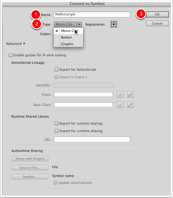 Choose Conversion Settings
