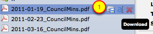 3. To download a file...