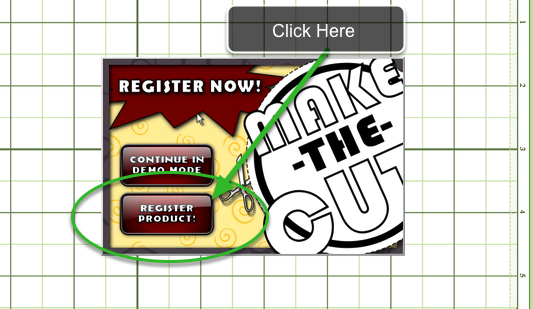 Open your Make the Cut Software