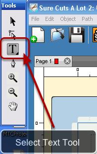 Select Text Tool