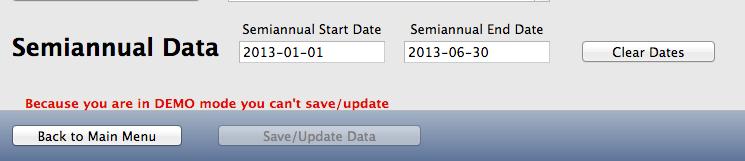 Semiannual Data