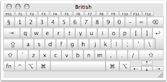 Enabling the Mac Keyboard Viewer