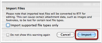 Drop OPML file in Scrivener's Binder - 2