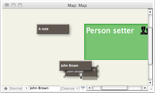 Adding a new person - Step 2 - Aliasing the new note
