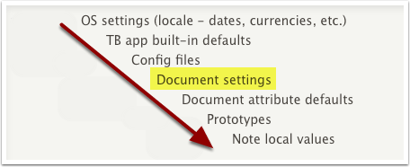 8. Document Settings