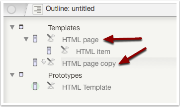 4.1 Duplicate the HTML template