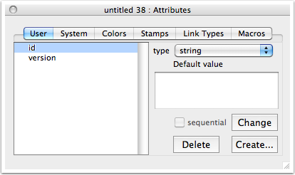 Deleting unwanted attributes