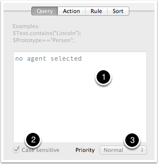 9.1 Action Inspector - Query tab