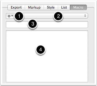 8.5 HTML Inspector - Macro tab