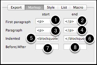 8.2 HTML Inspector - Markup tab