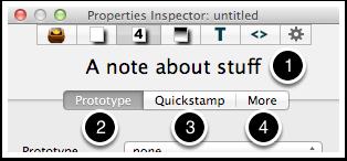 5. Properties Inspector