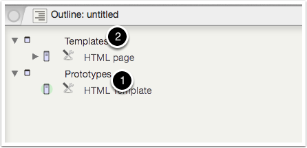 1-1. Adding the Prototype and Template containers