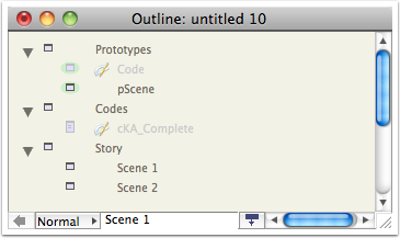 11. Add a Story container and per-scene notes