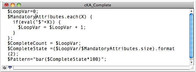 10. Alternate code - Check Only Some Key Attributes