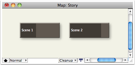 12. The scenes in Map view