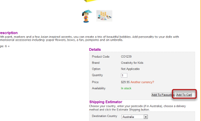 Add all products you wish to purchase to the cart