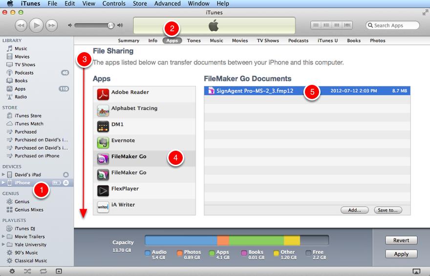 Step 1 - iTunes