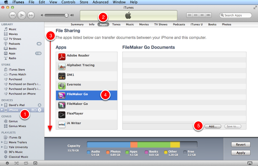Step 2 - iTunes