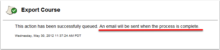 Wait for Confirmation Email