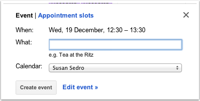 Create A Meeting In Google Calendar