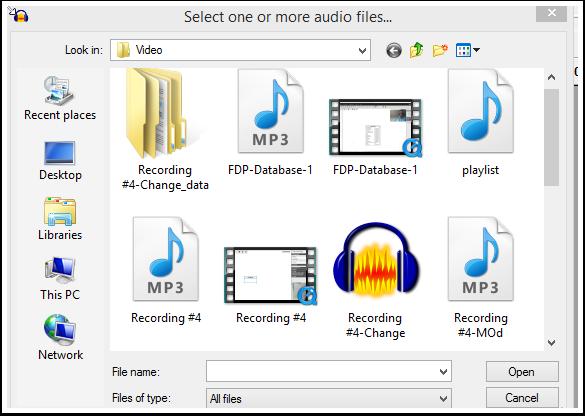 Load the MP3 File