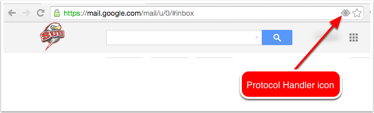 how to change default email in chrome