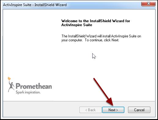4.1 Begin the Install Wizard