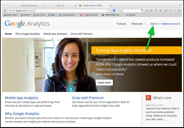 Google Analytics Official Website  13 Web Analytics & Reporting