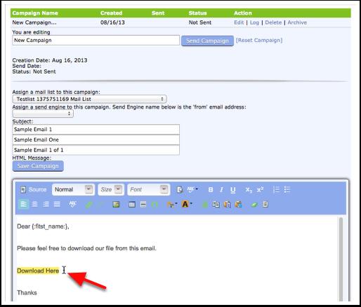 Create Download Link