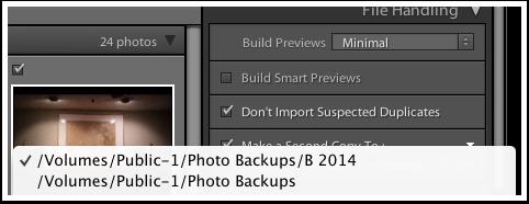 Backup Folder Location on My Drobo