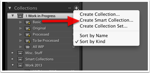 Create a Smart Collection