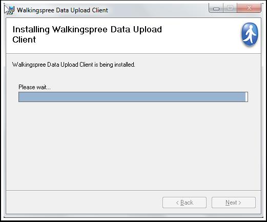 Walkingspree Data Upload Client