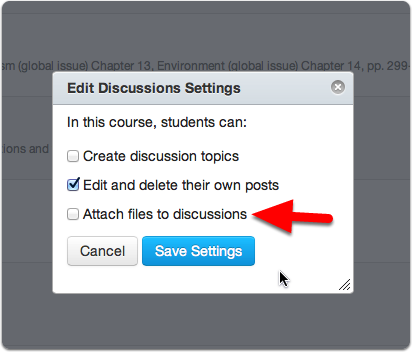 Allow attaching files to a discussion